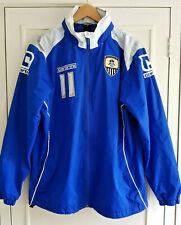 NOTTS COUNTY FC CARBRINI COAT Number 11 Size Large Full Zipper & Hood EXCELLENT