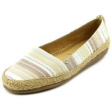 Low (3/4 in. to 1 1/2 in.) Canvas Espadrilles Flats for Women