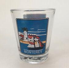 Monterey California Sailing Sceneries Shot Glass Travel Souvenir Barware