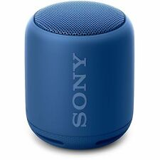 "NEW SONY SRS-XB10 WIRELESS ""BLUETOOTH"" EXTRA-BASS PORTABLE SPEAKER - BLUE"