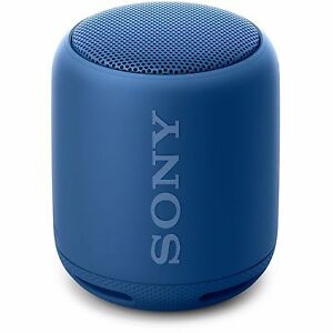 "POPULAR SONY SRS-XB10 WIRELESS ""BLUETOOTH"" EXTRA-BASS PORTABLE SPEAKER - BLUE"