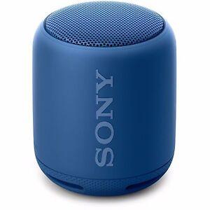 "POPULAR SONY SRS-XB10 WIRELESS ""BLUETOOTH"" EXTRA-BASS PORTABLE SPEAKER - BLUE"