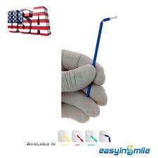 100pcs Dental Disposable Micro Brush Bendable Applicators 4 Assorted Easyinsmile