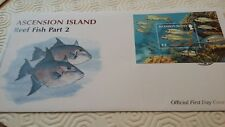 ASCENSION ISLAND FDC - 2012 - REEF FISH PART 2 (D97)