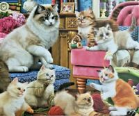 Funny Kittens Jigsaw Puzzle. 1000 Pieces Brand New & Sealed**Fast Dispatch**
