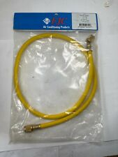 """FJC, 6323, HOSE, R12, R22, 36"""", Yellow, FJC Products, 1/4 x 1/4"""