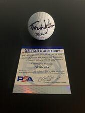 Tom Watson Signed Titleist Golf Ball PSA/DNA