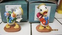 WDCC: Mr. Ducks Steps Out. 2 Newphews Ducks all in Original Boxes Great Pieces