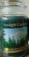 Yankee Candle   Mountain Pine   22 oz New  1 Single   Free Shipping.