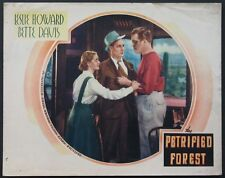 THE PETRIFIED FOREST BETTE DAVIS LESLIE HOWARD 1936 LOBBY CARD