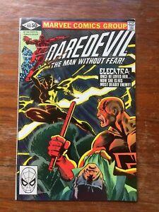 Daredevil - #168 - 1980 - 1st appearance of Electra - Marvel