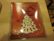 Nib Lenox Christmas Tree Ornament ~Tree Shape