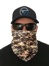 Camouflage Face Mask Neck Gaiter Bandana Shield Scarf Sun Headwear Tube Biker