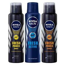 Nivea Fresh Power Boost, Fresh Power Charge, Fresh Active Deo