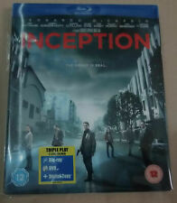 Inception (with Holographic Slip)(VGC)(UK Blu Ray)