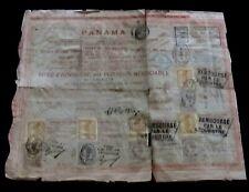 PANAMA Titre au porteur 1888 Cie Universelle Canal Interocéanique de Panama XIXe