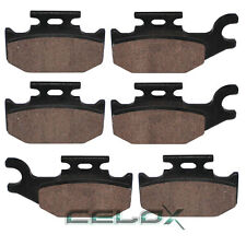 Front Rear Brake Pads For Can-Am Outlander 800 STD / XT / MAX LTD 07 08 09 10 11