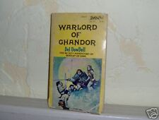 Warlord of Ghandor  by Del DowDell Vintage RARE Fantasy