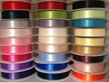 1inch/25mm Double Satin /Double Faced Ribbon~26 Awesome Colours For Gift Wraps