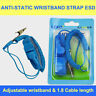 Anti Static Electricity Grounding ESD Wired Wristband Discharge Wrist Strap