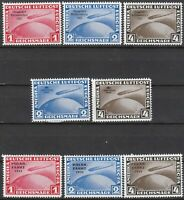 Stamp Germany Graf Zeppelin Reprint Set Polar Chicago Filler MNG