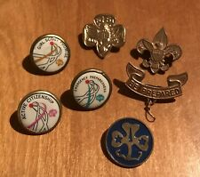Girl Scouts Vintage Pin Pins Promise Preparedness Citizenship