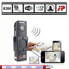 Mini HD 720P Wifi IP Camera Wireless Network Security Spy Hidden Remote CCTV Cam