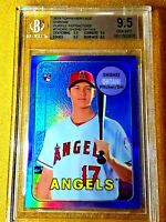 2018 Topps Heritage Chrome Shohei Ohtani Purple Refractor BGS True Gem Rookie RC