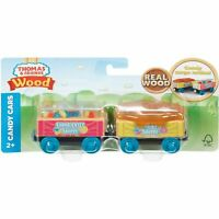 Fisher-Price Thomas & Friends Wood Candy Cars Train Set GGH15 NEW