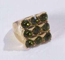 Markenlose Modeschmuck-Ringe mit Strass 56 (7 mm Ø)
