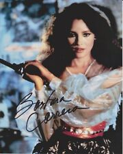 Barbara Carrera Signed 8x10 Photo - James Bond Babe - NEVER SAY NEVER AGAIN H125