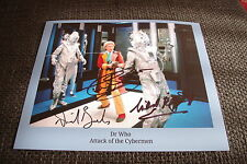 Doctor who signed AUTOGRAFI Baker; Banks & kalgarriff su 20x25cm foto inperson