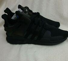Adidas Zapatillas Sneakers EQT Soporte ADV Triple Negro CP8928 EE. UU. 8 Reino Unido 7.5 RRP £ 90