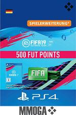PS4 - FIFA 19 Ultimate Team - 500 FUT Points Key Playstation 4 Code Nur für DE