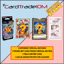 Yu-Gi-Oh! MYSTERY BOX 001 - 3x Special Edition - Ash Blossom Sleeves and more!!