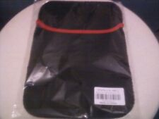 Computer Tablet/Laptop 10 in. PVC sleeve (Black/Red)--10 x 7.75 inches