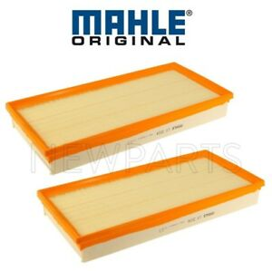 For Porsche Cayenne Pair Set of 2 Air Filters Standard Type Mahle 95811013000