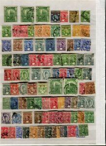 ZANZIBAR; 1890s-1930s early Sultan issues fine mint used LOT