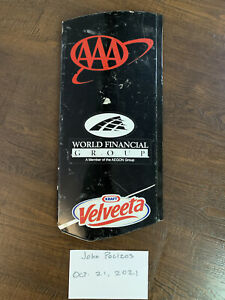 "Carl Edwards NASCAR Race Used Sheet Metal Piece Panel 15""x7"" Rousch Racing"