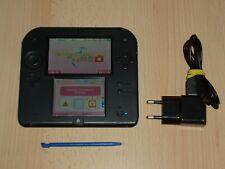Nintendo  2Ds Konsole inkl. Zubehör schwarz - blau