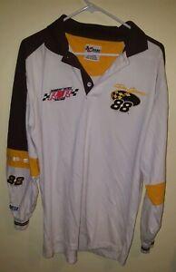 Dale Jarrett UPS 88 NASCAR long sleeve polo shirt Medium Chase Authentics