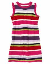 Nwt sz M 7-8 Pocketful of Petals striped Sweater dress Crazy8 Gymboree Outfit