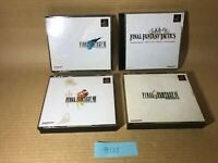 Final Fantasy FF VIII VII IX TACTICS Sony PlayStation PS1 Japan NTSC-J #135