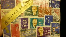 Outer space world wide  souvenir postage stamp set  P675