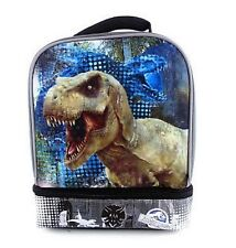 *NEW!*Jurassic Park World 3D FX Dinosaur Movie Lunch Bag Box Kit Tote