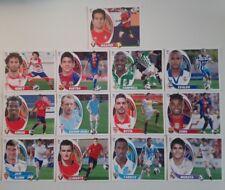 LOTE 13 CROMOS ESTE 2012/13 DE SOBRE FICHAJES Y COLOCA