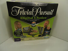 Parker Brothers Trivial Pursuit Digital Choice Board Game - VGC