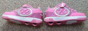 Girls Pink Light up Heelys Size 1