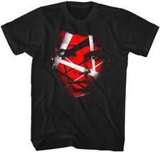 Muhammad Ali Black & White Stripes Adult T Shirt Boxing Champ