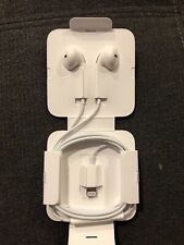 Apple In-Ear Only Headsets - White Wired